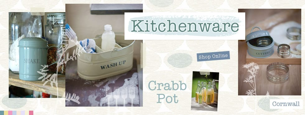 Kitchenware from The Crabb Pot
