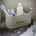 Wash up tidy - clay