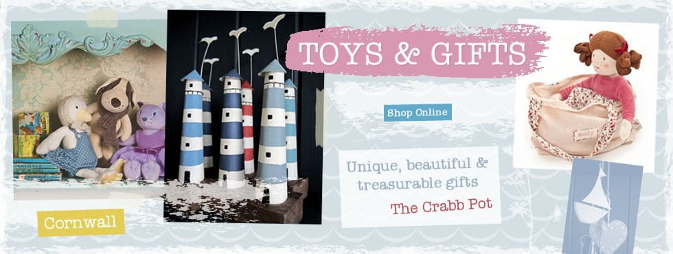 Toys & Gifts from The Crabb Pot